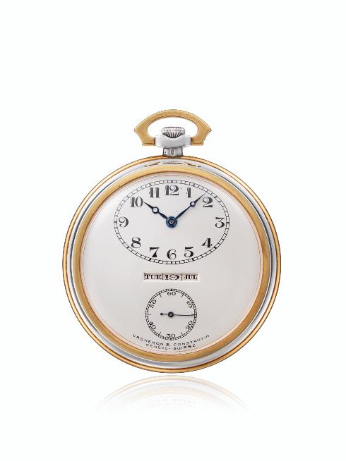 Самые первые карманные часы Vacheron Constantin на выставке в Гонконге