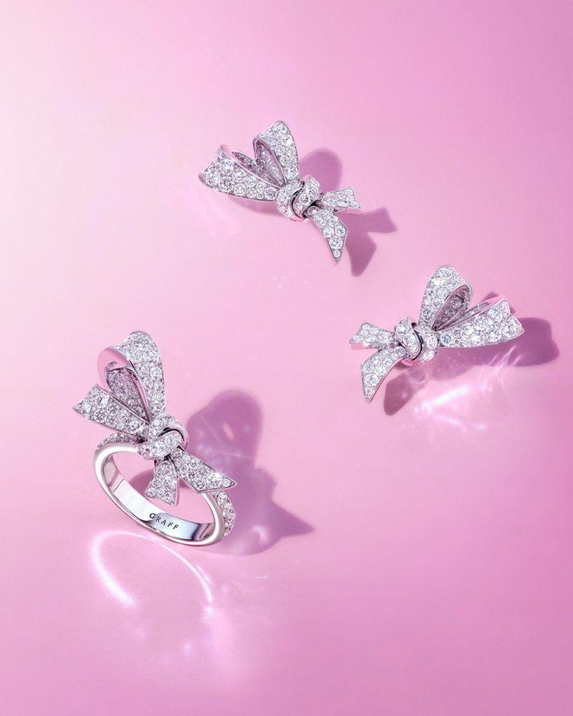 Кольца и серьги из коллекции Tilda's Bow
