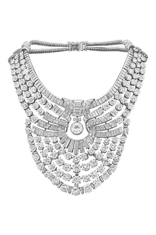 Бриллиантовое колье для царицы Египта Назли, 1939 год