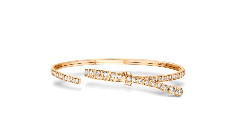 Браслет Ruban от Chanel с бриллиантами