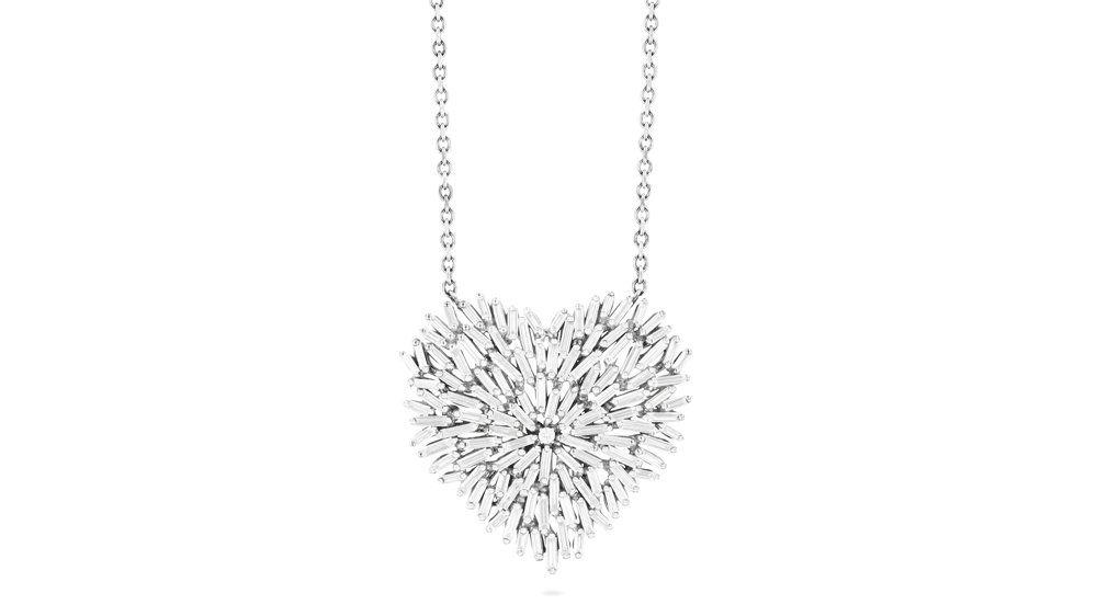 Бриллиантовый кулон от Suzanne Kalan