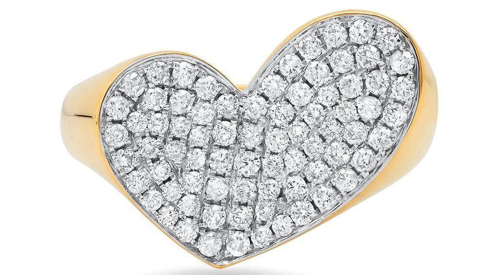 Кольцо с бриллиантом Colette