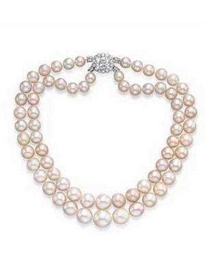 Самые дорогие жемчужные колье и ожерелья