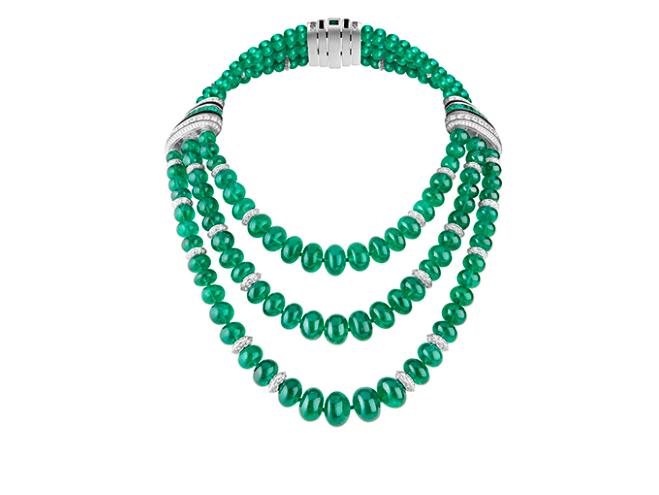 Ожерелье Plastron Émeraudes от Boucheron