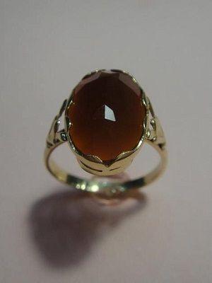 кольцо с сардером