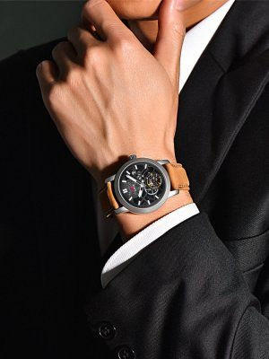 Стильные часы для делового мужчины