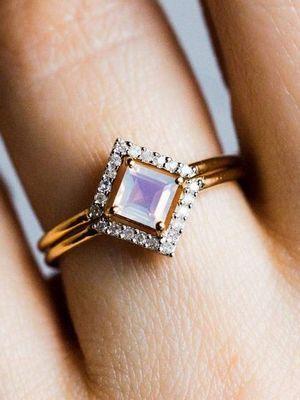 кольцо с баритом