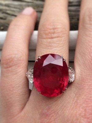 кольцо с пейнитом