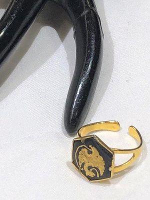кольцо в технике дамаскин