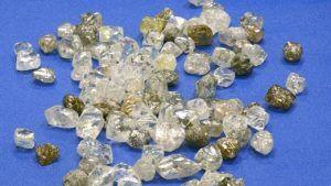 Алмазодобывающие компании объявили о стабильных продажах алмазного сырья