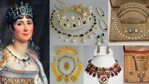 Ювелирные украшения в стиле ампир