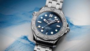 Новые часы Seamaster от Omega – ода зимним Олимпийским играм 2022 года в Пекине