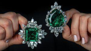 Все эти крупные драгоценные камни будут выставлены на аукционы Sotheby's