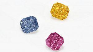 Три сногсшибательных цветных бриллианта на Christie's могут выручить до 8 миллионов долларов