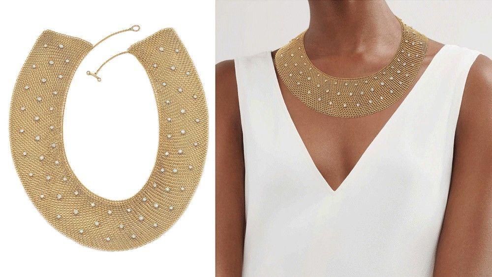 Ожерелье Mesh Collar от Эльзы Перетти