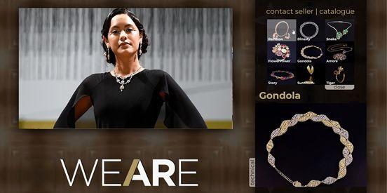 Пример того, что We Are Jewellery предлагает своим зрителям