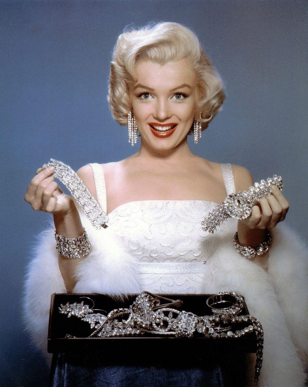 Мэрилин Монро в фильме 1953 года «Джентльмены предпочитают блондинок»