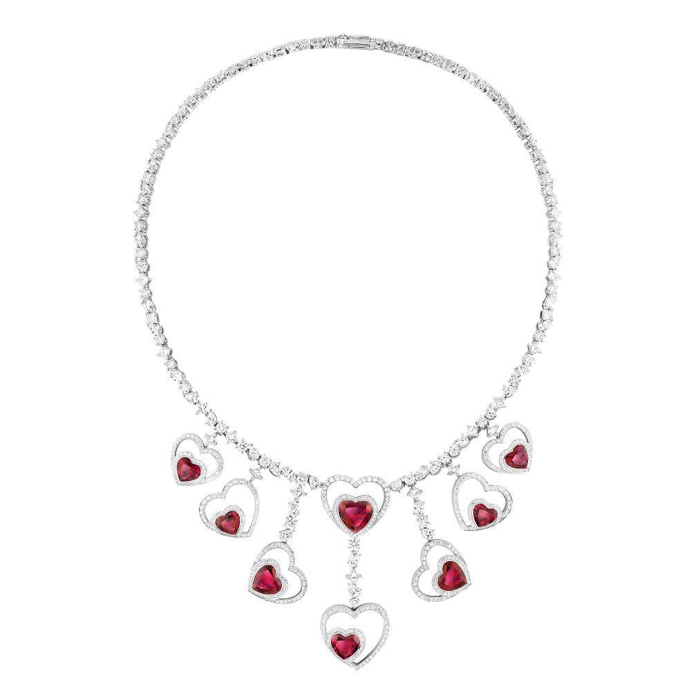 Ожерелье Audacious можно разобрать и носить несколькими способами