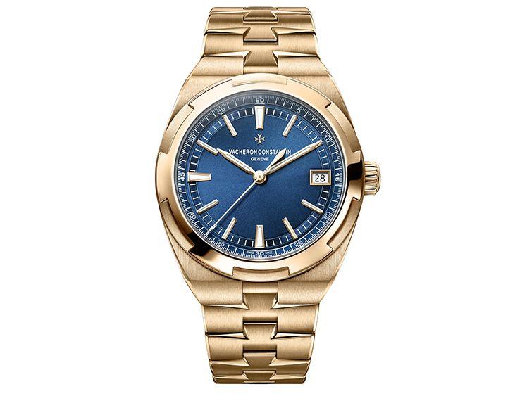Часы Vacheron Constantin Overseas с автоподзаводом из розового золота 5N