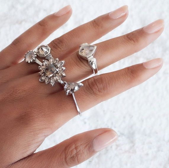 Кольца Lauren Wolf Jewelry