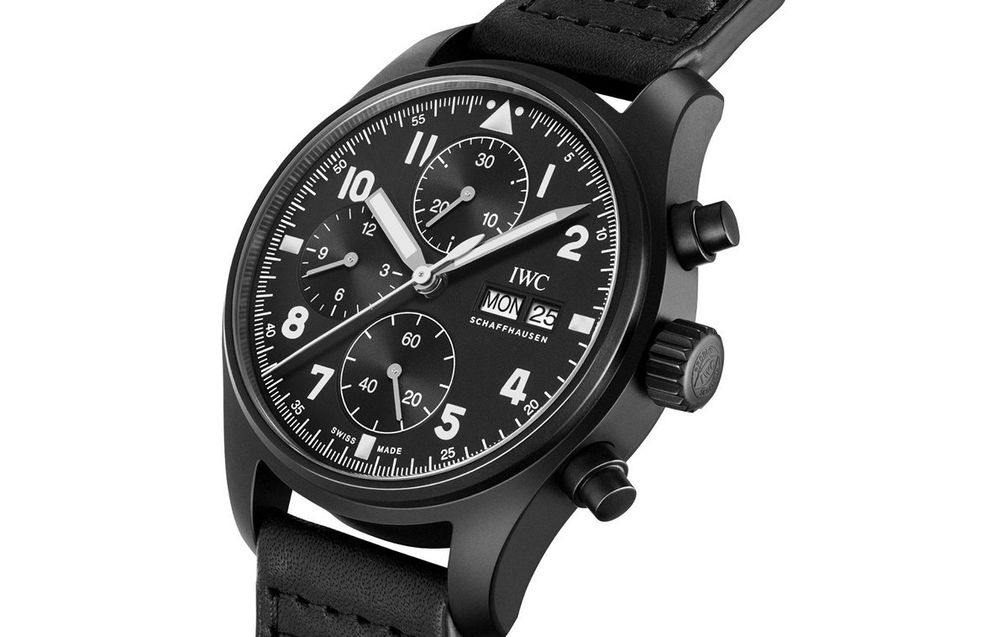 IWC Pilot's Watch Chronograph Edition «Tribute to 3705»