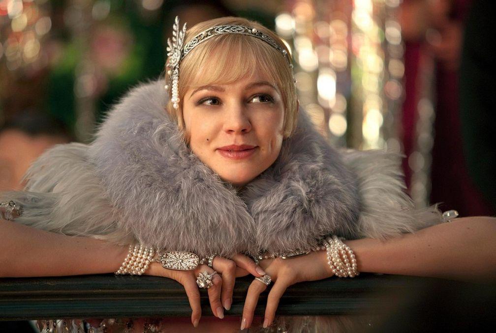 Кэри Маллиган в роли Дейзи Бьюкенен в экранизации Ф. Скотта Фицджеральда «Великий Гэтсби»