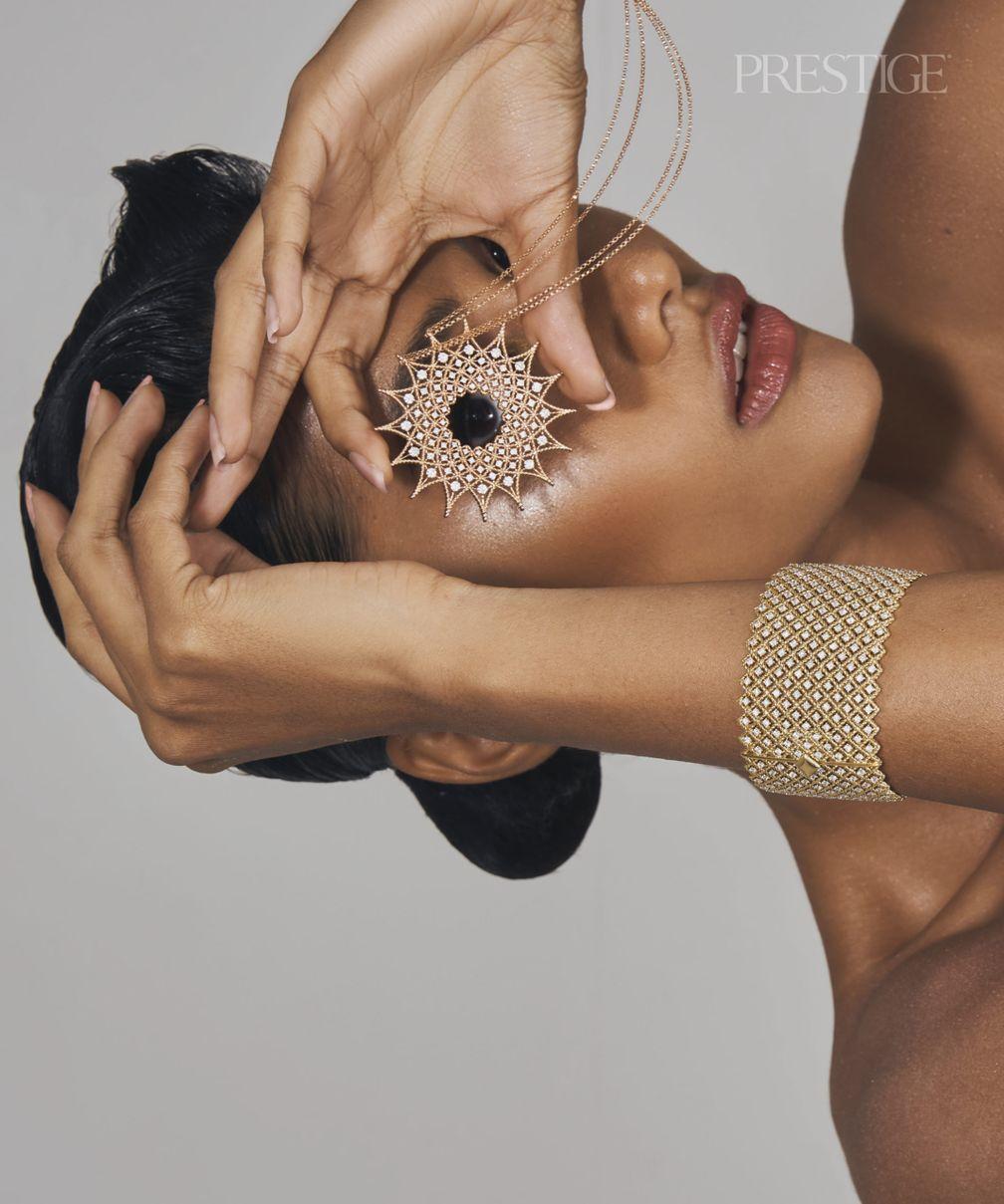Ожерелье, браслет и кольцо из коллекции Venetian Princess