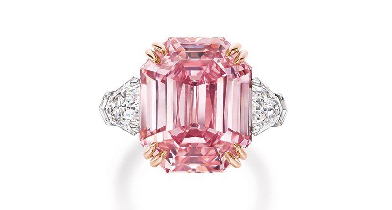 Harry Winston открыт для предложений по бриллианту «Розовое наследие»