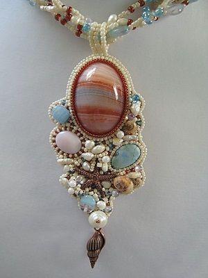 ожерелье с переливтом