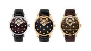 Gucci предлагает 33 новые модели часов