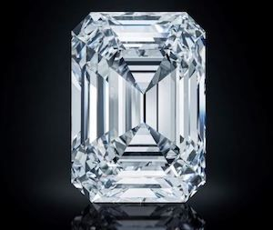 Christie's выставит на продажу безупречный 100-каратный бриллиант
