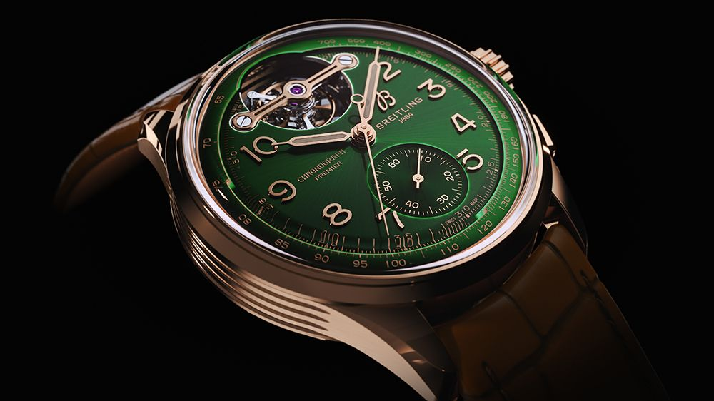 Premier B21 Chronograph Tourbillon 42 Bentley Limited Edition от Breitling