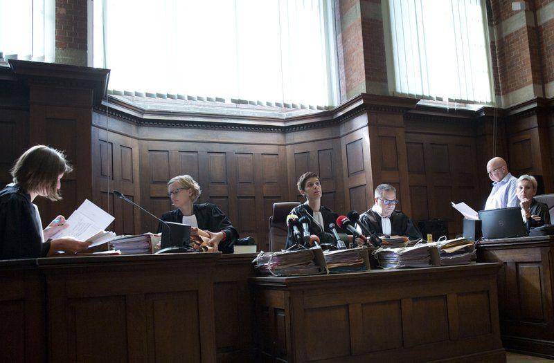 Суд в Антверпене