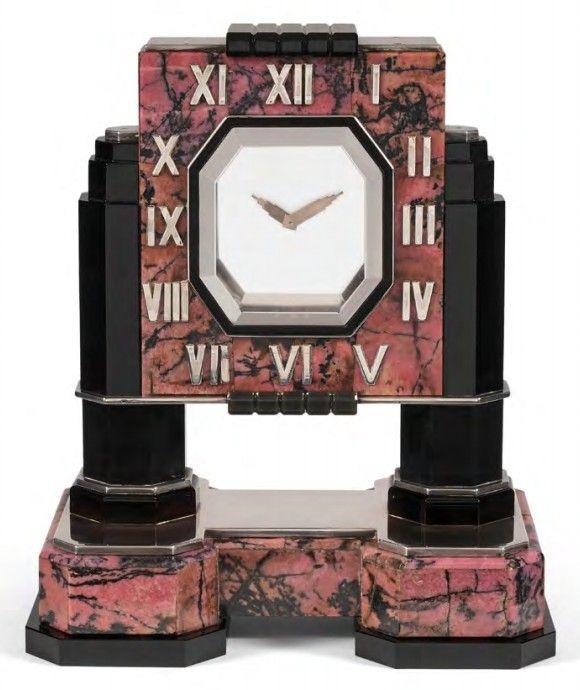 Таинственные часы от Cartier в стиле ар-деко, начало 1930-х годов