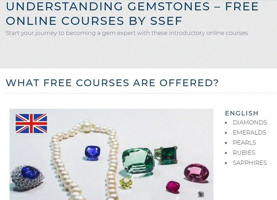 Онлайн-курс «Понимание драгоценных камней»