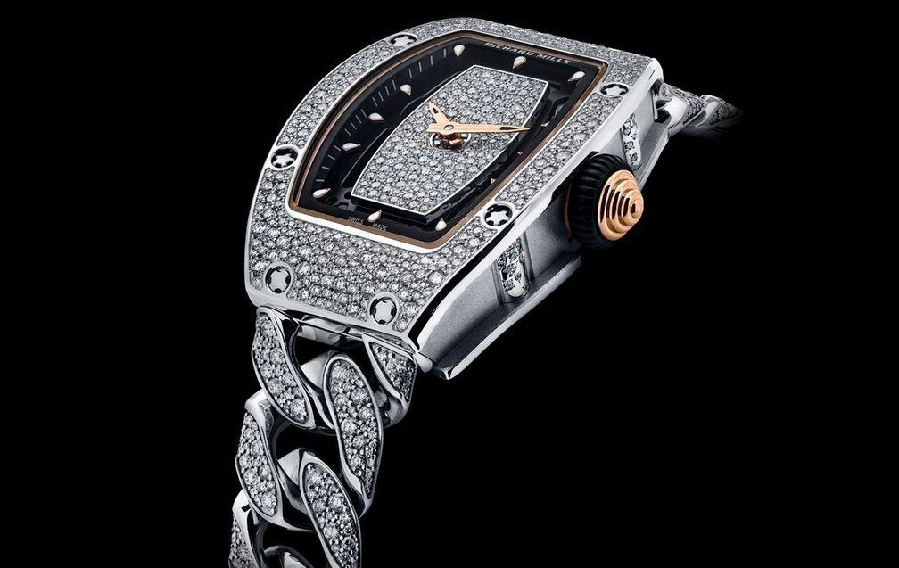 RM 07-01 от Richard Mille с бриллиантами