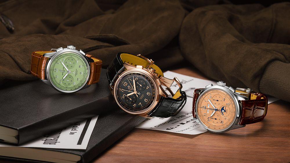 Premier Heritage Chronograph 40, Premier Heritage Duograph 42 и Premier Heritage Datora 42 от Breitling