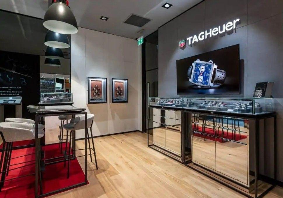 Новый бутик TAG Heuer в Кардиффе