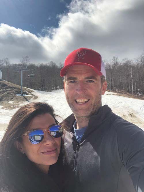 Берри Хейш и ее муж Роб в Вермонте