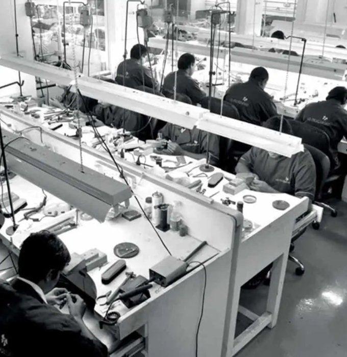 Производственное подразделение LaMarquise Diamonds