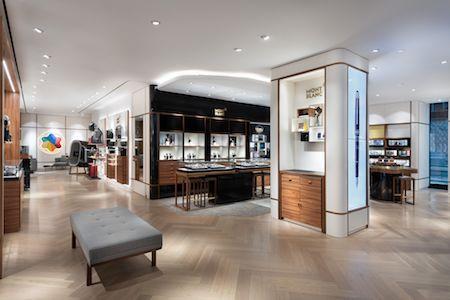 В новом магазине Montblanc на каждом шагу вас ждут открытия