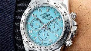 Часы Rolex «Zenith» Daytona с бирюзовым циферблатом проданы на аукционе за 3,1 миллиона долларов