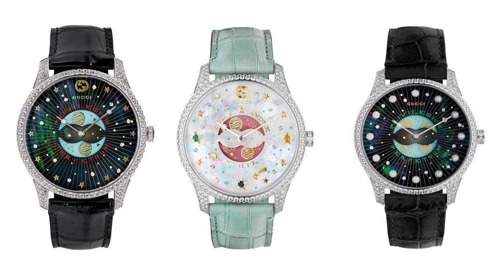 Коллекция G-Timeless Moonphase от Gucci
