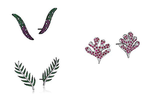 Мозаичные серьги Vitania, серьги Hewan, серьги Fasika