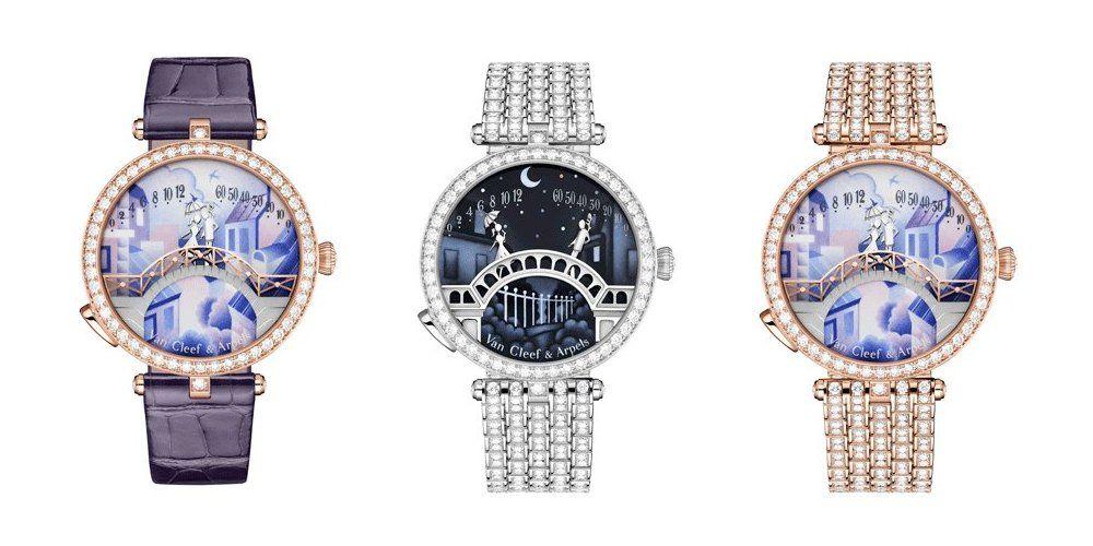Часы Pont des Amoureux