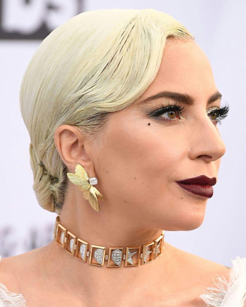 Леди Гага прибыла на 25-ю ежегодную церемонию вручения премии Гильдии киноактеров