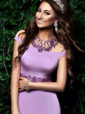 Какие украшения идеально подойдут к фиолетовому платью