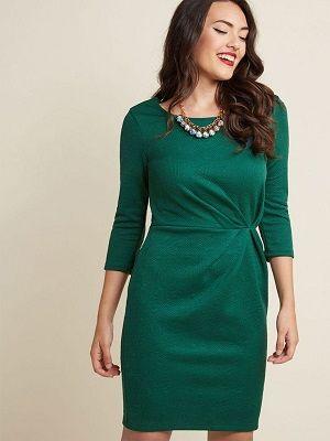 Какие украшения идеально подойдут к зеленому платью