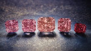 Обнаружены последние в мире розовые бриллианты Аргайл