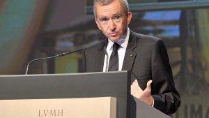 Владелец LVMH Бернар Арно стал самым богатым человеком в мире